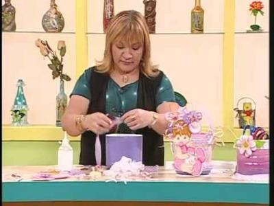 Aprender con Rossana TV: Cesta para el babyshower