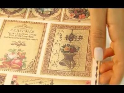 Arte Fácil - Garrafas Recicladas no Estilo Vintage - Hora de Arte
