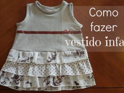 Como fazer vestido infantil | ModaByNill