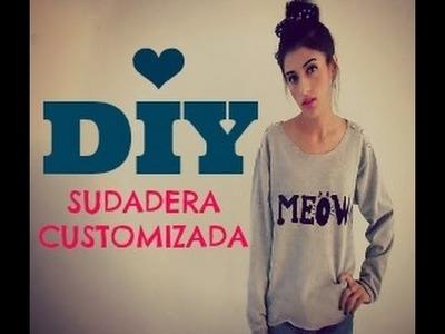 DIY: Customiza tu sudadera 2. ♥