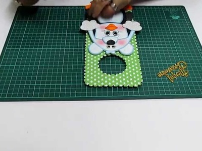 DIY Pinguino en Fomi, Goma Eva, Microporoso, Easy Crafts
