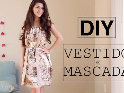 DIY VESTIDO DE MASCADAS SUPER FÁCIL | Fashion Riot