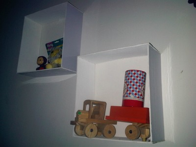 Repisa de madera para decorar dormitorios facil