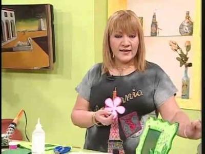 Aprender con Rossana TV: Portaretratos en foami