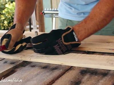 Como Construir uma Mesa de Pallet