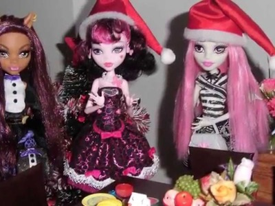 Monster High - O Natal das Monstrinhas (Christmas dinner)
