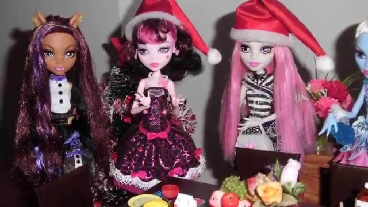 Monster High - O Natal das Monstrinhas (Christmas dinner)