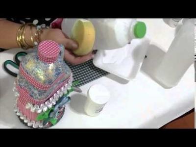 Aprender con Rossana TV: Decoración potes de plástico