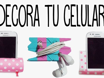 Crea tus accesorios para celulares - decora tu celular - Tutoriales Belen