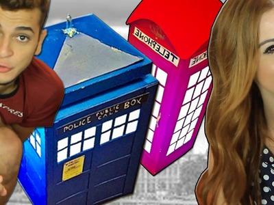 DIY:: London Cabine ♥Tardis (Dr.Who) ♥Luminárias de Papel com Victor Lamoglia