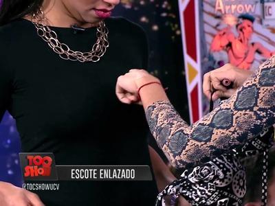 FLAVIA Y SUS MANUALIDADES : EL ESCOTE ENCORDADO