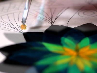 Mandala Mística (Óleo Sobre Tela) - Por Patrícia Langosk