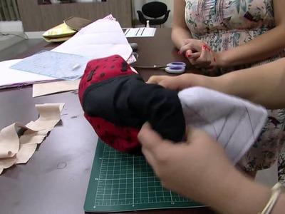 Mulher.com 24.10.2014 - Kit higiene do bebe por Regina Heitor parte 2