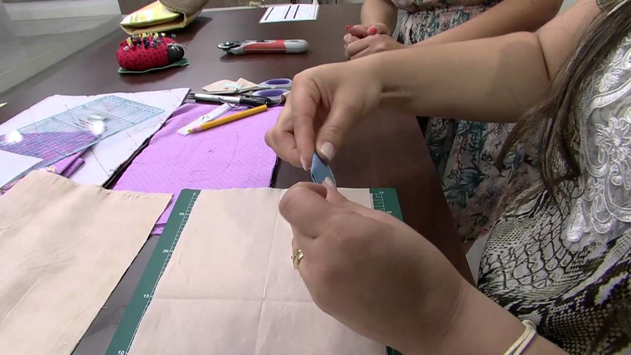Mulher.com 24.10.2014 - Kit higiene do bebe por Regina Heitor parte 1