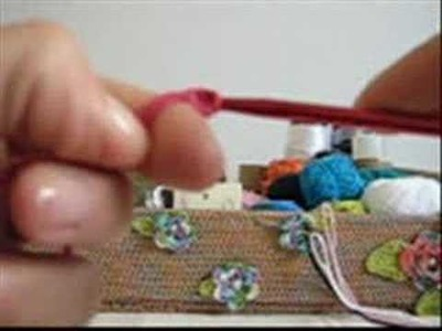 Crochê Tunisiano - Cachecol Infant. - Modelo 001 - Iniciando