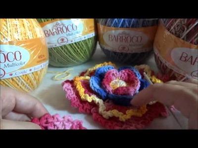 Flor REndada Barroco parte 2