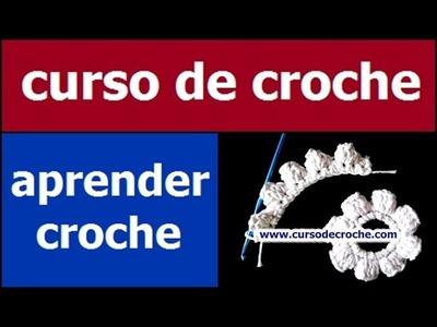 CROCHE DE CROCHE AULA 063.081 PONTO PIPOCA EM CROCHE CIRCULAR