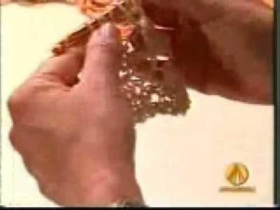 """Crochê Tunisiano com Mary """"Saida de praia Parte 2"""""""