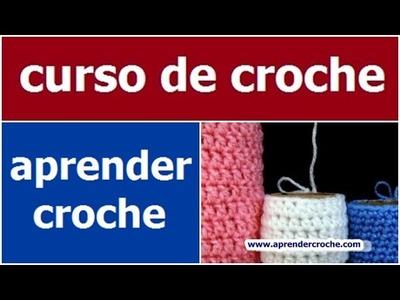 CURSO DE CROCHE PARA INICIANTES AULA 017.081 CROCHE TUBULAR (HD)