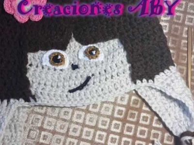 Gorro de Dora la Exploradora a Crochet ultima parte