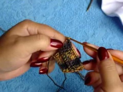 CROCHE - CUSTOMIZANDO CAMISETAS EM CROCHE 4ª PARTE