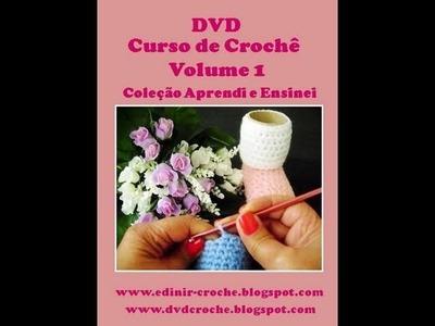 DVD CURSO DE CROCHE VOLUME 1