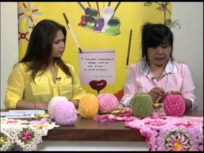 Mulher.com 16.11.2012 Cristina Luriko -- Tapete Flores 2.2