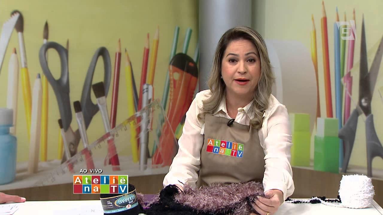 Ateliê na TV - Tv Gazeta - 22.07.15 - Simone Eleotério
