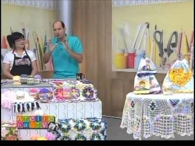 Ateliê na Tv - Tv Gazeta - 14-08-12 - Cristina Luriko