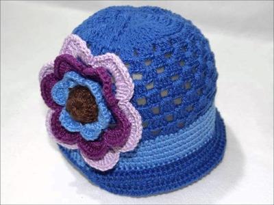 Boina Flor 3 Camadas