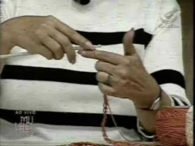 Crochê Tunisiano no Mulheres (Cátia Fonseca) - Parte 01.03