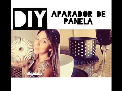DIY APARADOR DE PANELA