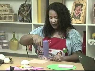 Edna Masan - Participação no Canal do Artesanato 16.03.2011 - Parte 1