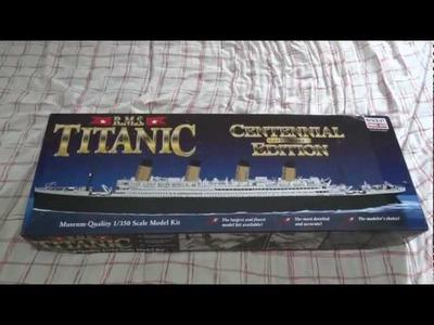 Titanic 1.350 Minicraft Unbox BR