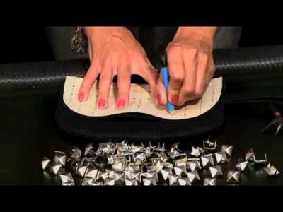Aprenda a customizar com tachas