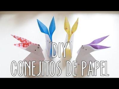 CONEJITOS DE PAPEL | DIY