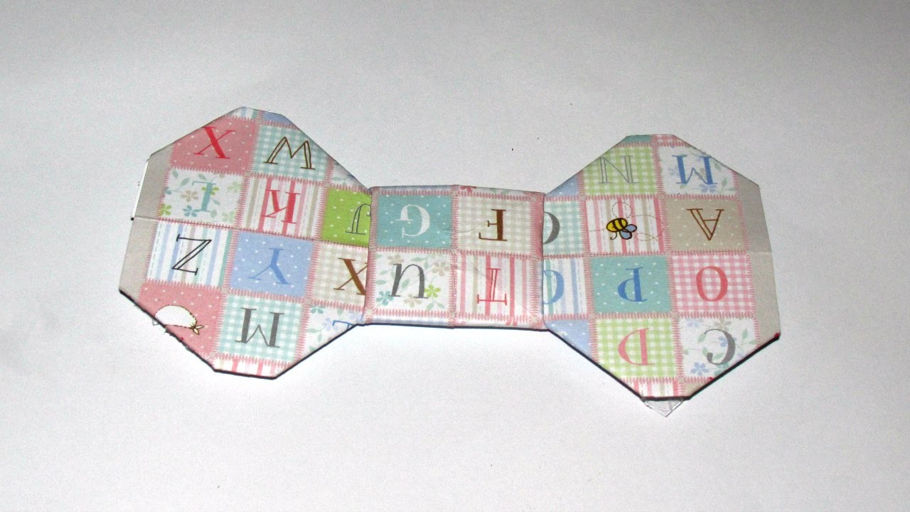 DIY: Laço de origami
