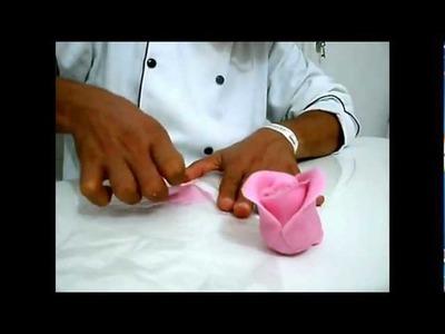 Massa Elástica -  Rosa com Polegar  - Roses made with thumb