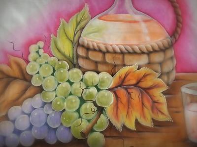 Natureza Morta;Uvas e Transparência de Vidro. Parte.:2 (Final)