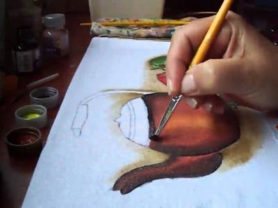 Pintura da chaleira