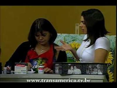 Tv Transamérica -  Técnica: fotos craqueladas Parte 1