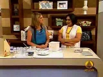Vera Brugin Faiança com cristal (2 de 3) Sabor de Vida na Tv Aparecida 2 de 3