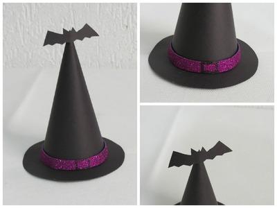 DIY - Chapeu de bruxa