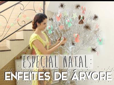ESPECIAL NATAL #3: DIY enfeites de árvores de natal - Paula Stephânia