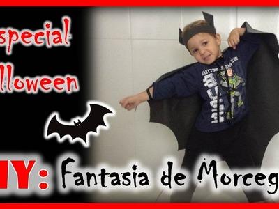 Fantasia de Morcego: DIY de Halloween | Fran Santos