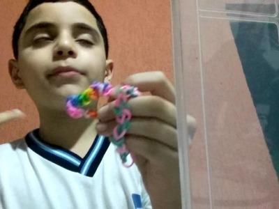 Meu Kit de elásticos rainbow loom