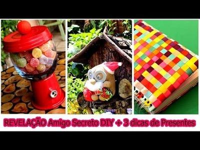 Amigo Secreto Youtubers DIY + 3 dicas de Presentes Fáceis e Rápidos #vlogmas