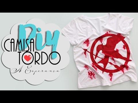DIY: Camisa do Tordo - A Esperança! - Jogos Vorazes