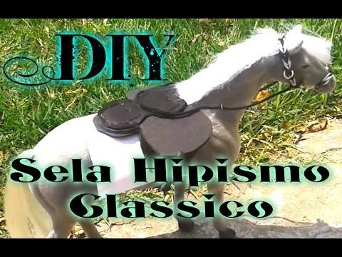 DIY: Sela de Hipismo Clássico (E.V.A) | Horse Chan
