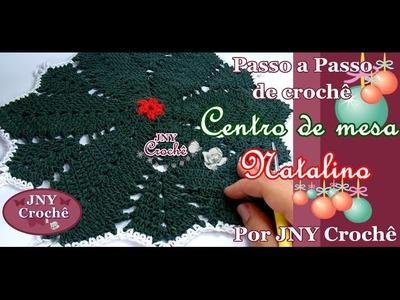 PAP Centro de mesa Natalino por JNY Crochê
